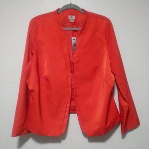 Worthington Orange Blazer 2X